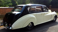 Daimler Vanden Plas Princess wedding car hire