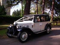 Austin 16/6 Berkeley  Wedding car hire