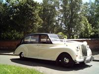 1960 Daimler for hire Sutton Coldfield